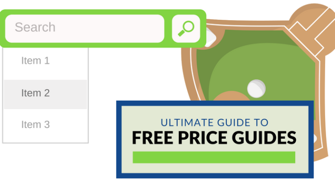 Free Price Guide For Baseball Cards 5 Great Options
