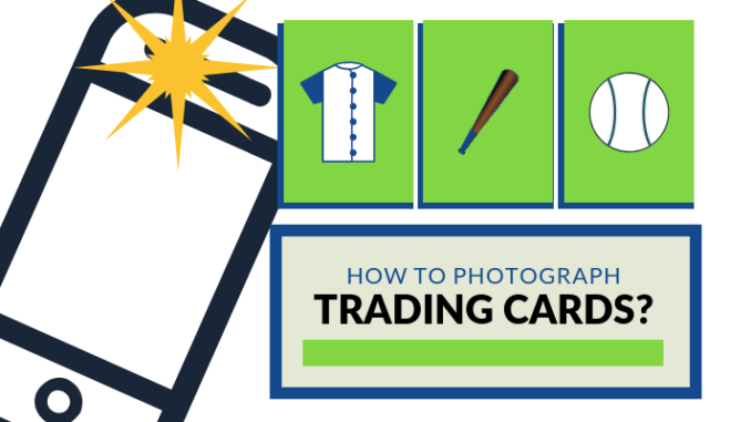 How To Photograph Baseball Trading Cards Ballcard Genius